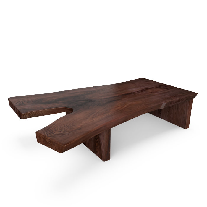 hudson tate coffee table 3d model
