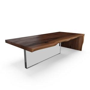 3ds max hudson plexi coffee table