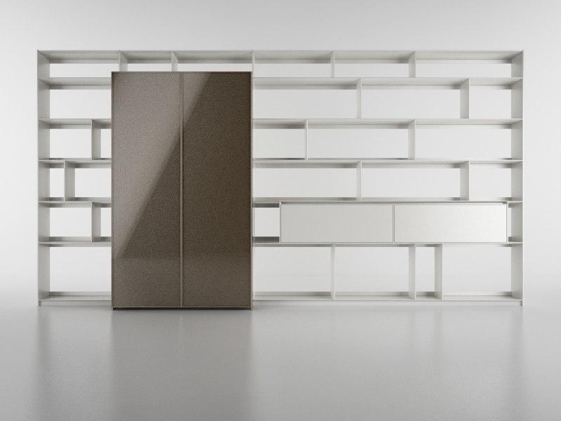 b bookcase 18 - 3d model
