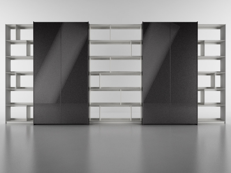 cinema4d b bookcase 19 -