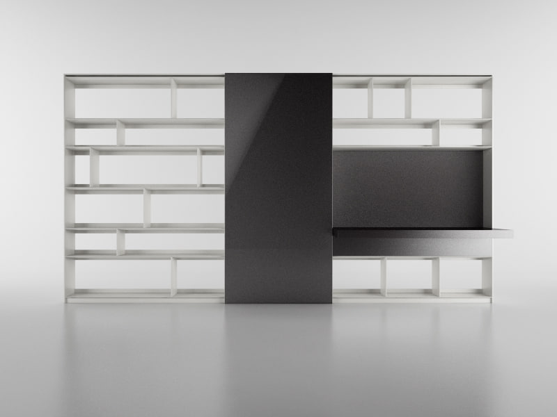 c4d b bookcase 21 -