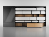 B&B Bookcase 22 - 450x215x30/62 cm - N.22 in M4D Vol.6