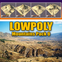 3ds mountains pack 8