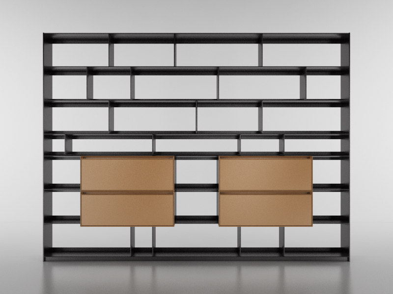 3d b bookcase 29 -