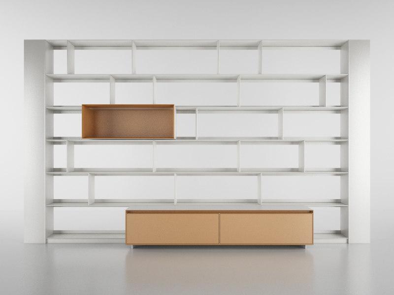 b bookcase 31 - c4d