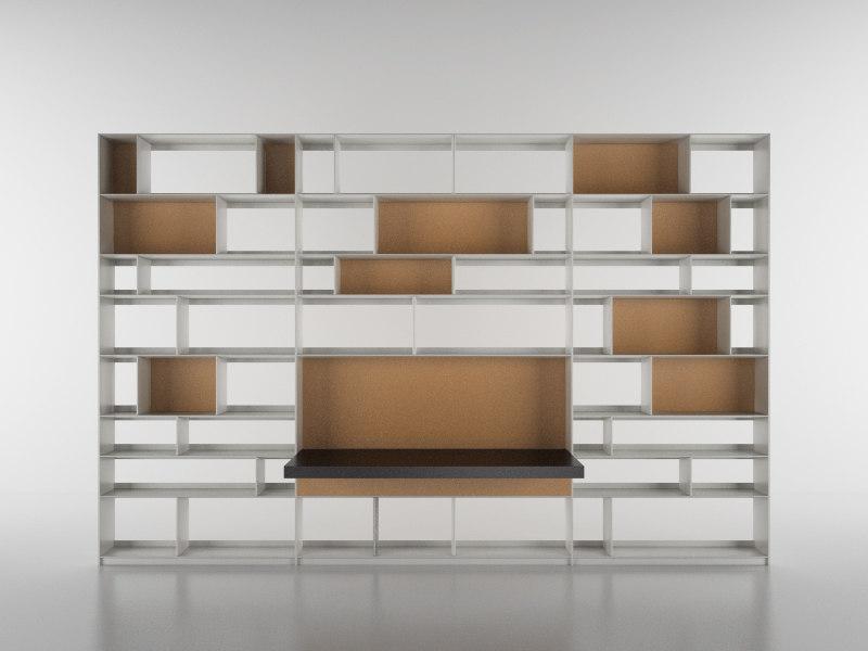 cinema4d b bookcase 33 -