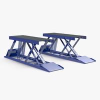 car lift 3d model