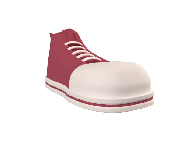 3dsmax toon character shoe