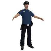 3d police officer 6