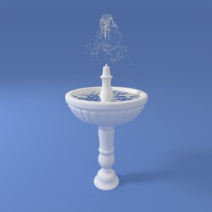 fountain fount water dxf