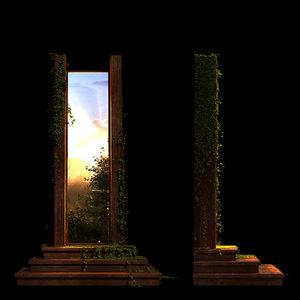 architectural magic portal 3d model