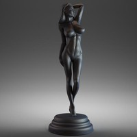 woman figurine art max