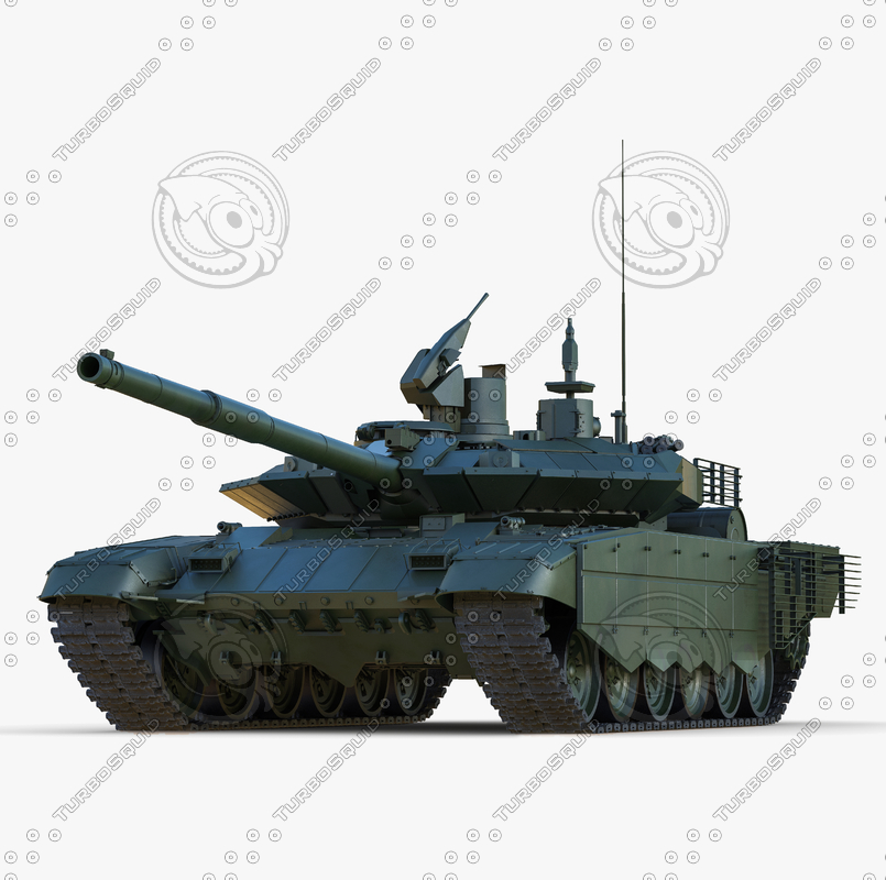 3ds max russian main battle tank