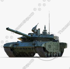 3ds max russian main battle tank