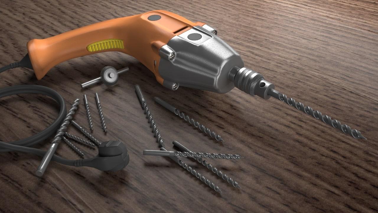 drill 3d max