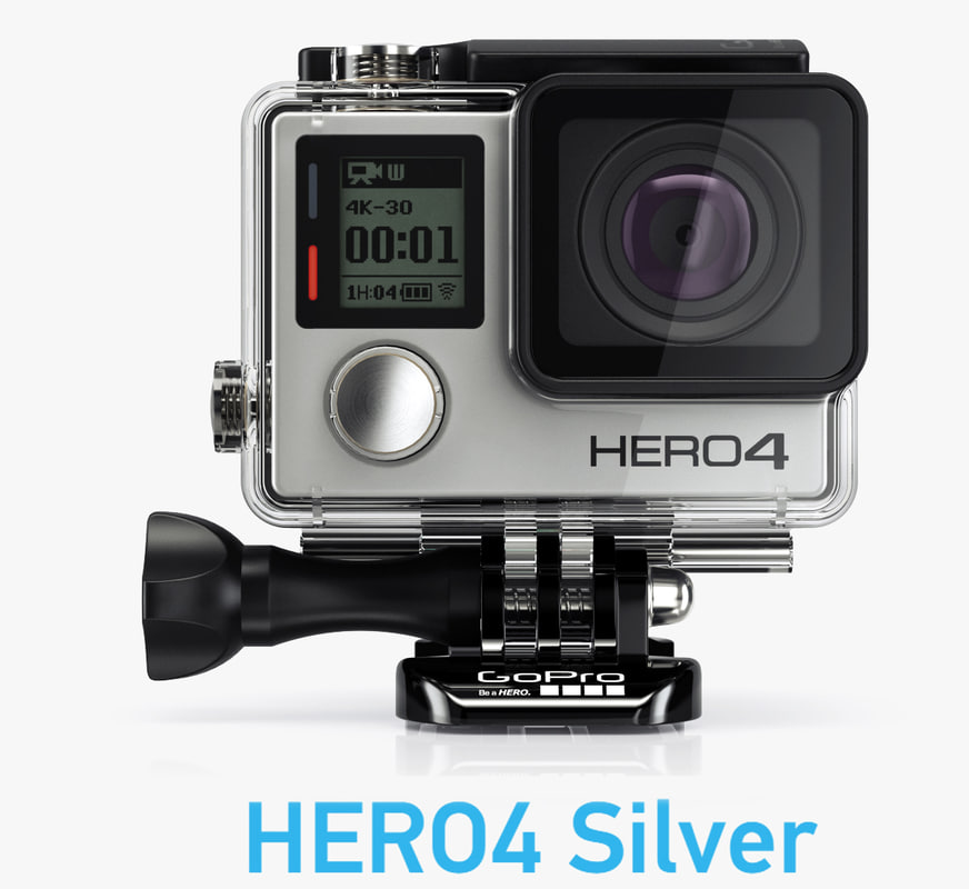 camera gopro hero4 silver 3d 3ds