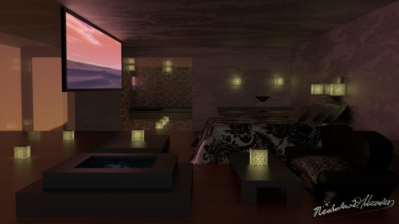 indoor lighting blend