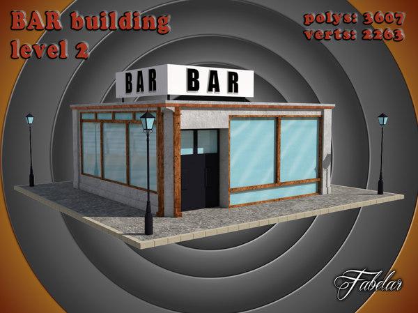 3d bar level 2 model