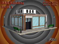 bar level 3 3d model