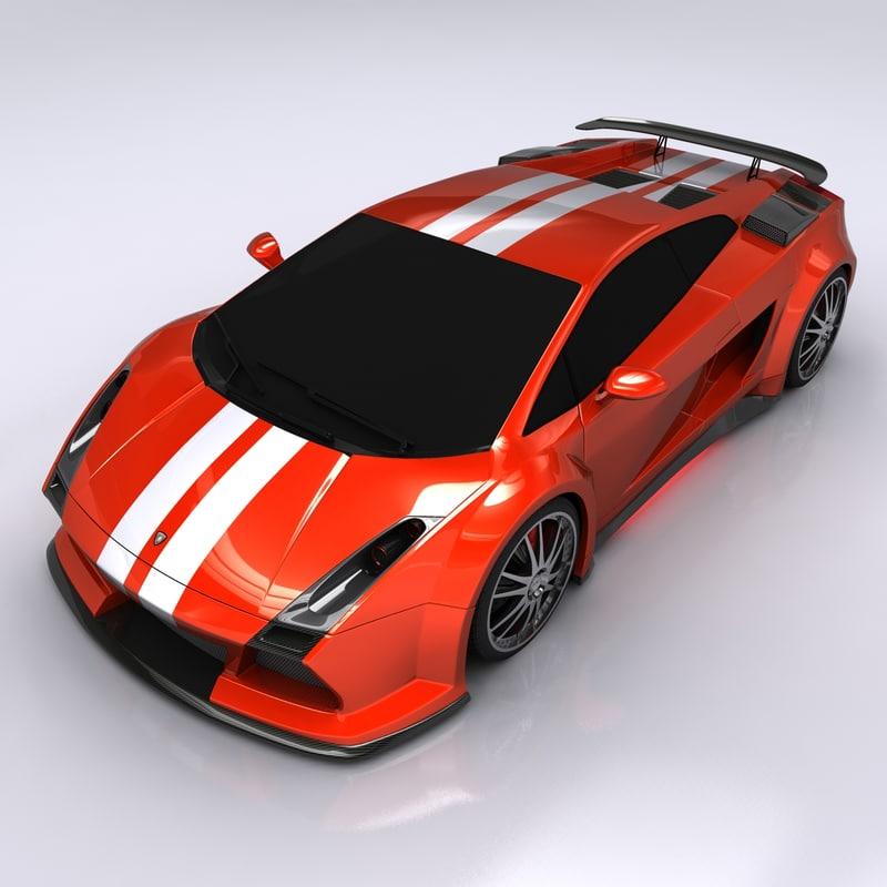3d model lamborghini gallardo wanted gallardo: