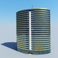 max office tower building oval