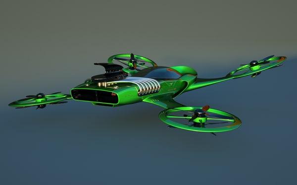 heli designed 3d max