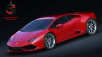 lamborghini huracan lp 610-4 3d model