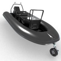 c4d sealeg amphibious boat