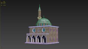 mosques 3d model