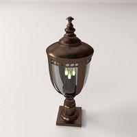 post lantern 3d 3ds