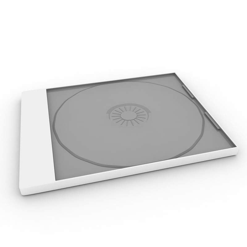 3d max jewel case cd dvd