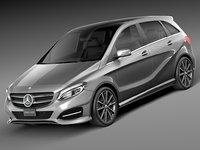 2015 mercedes mercedes-benz 3d model