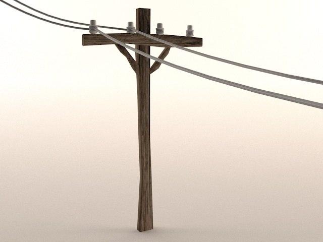 max telephone pole toon