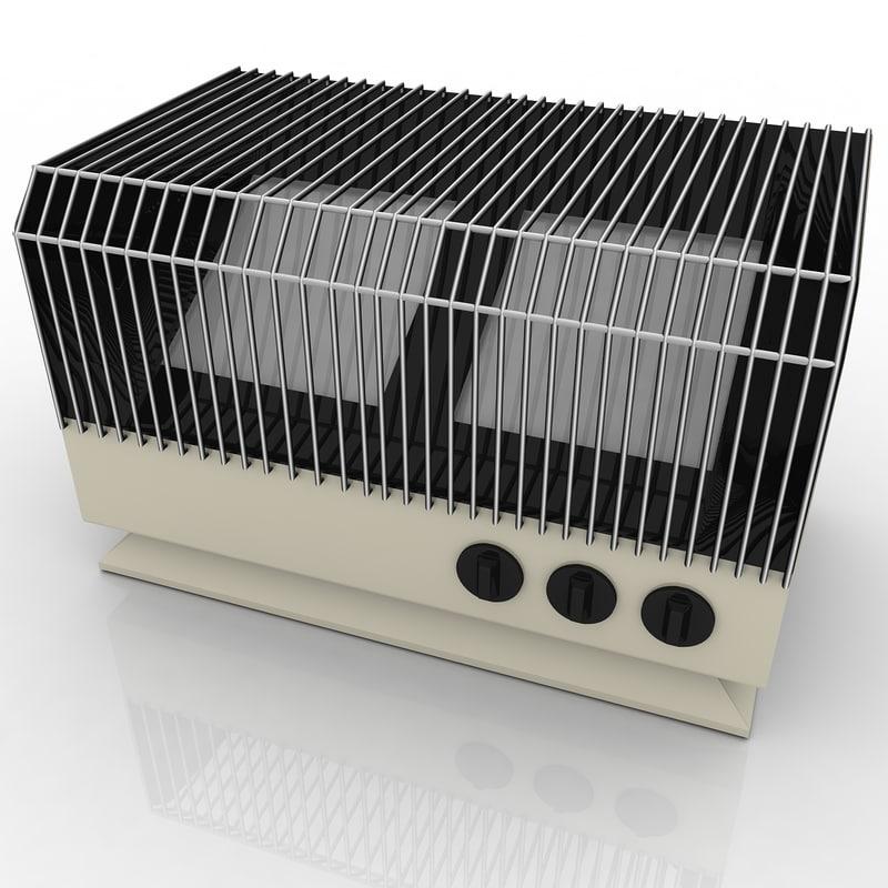 heater heat 3d model