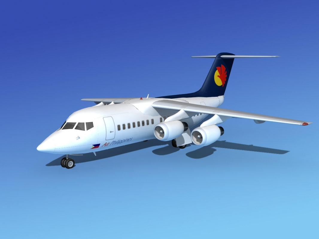 3d model of turbines bae 146
