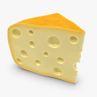 gouda cheese yellow 3ds