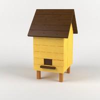 3d model bee beehive