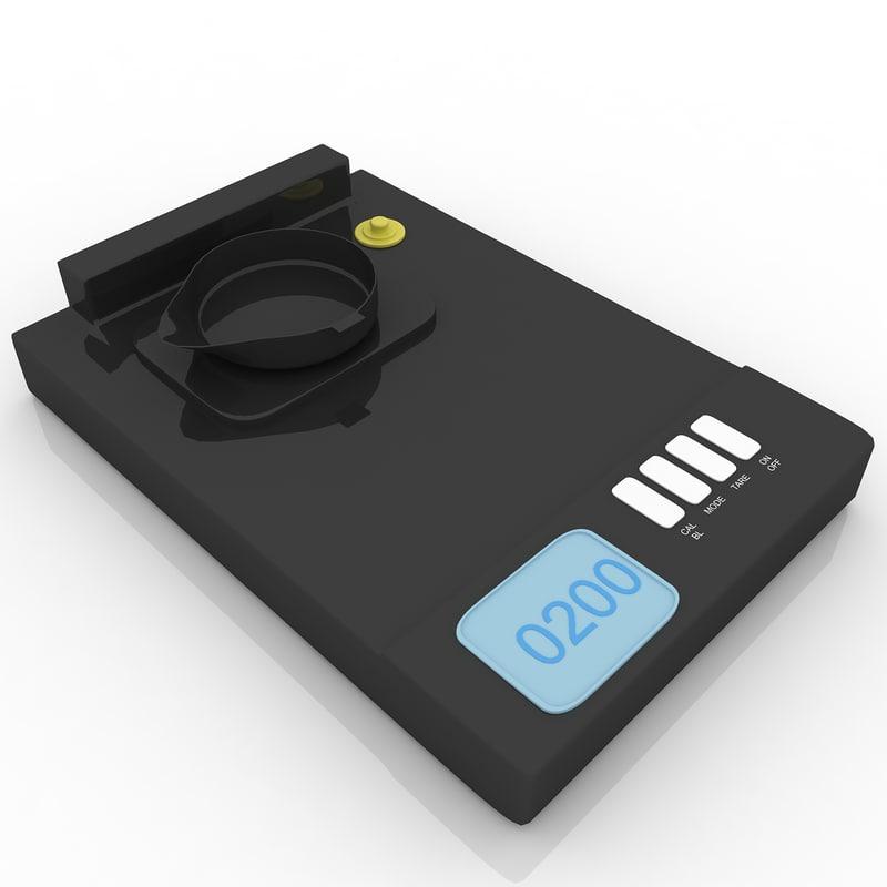 3d jewelry digital scales