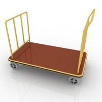 3dsmax hotel cart