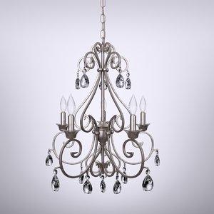 3d model fiona chandelier