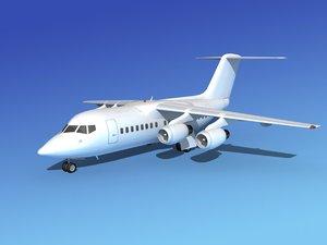 3d model turbines bae 146