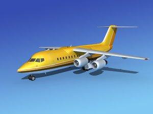 turbines bae aircraft 3d model
