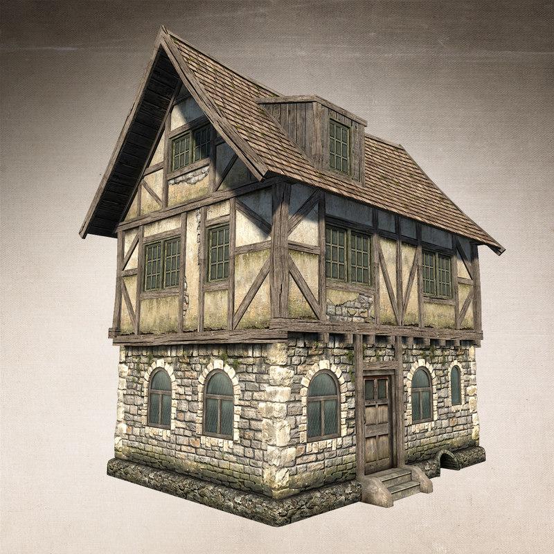 Best Free 3d Home Design Software 2015: Fantasy Medieval House 3d Max