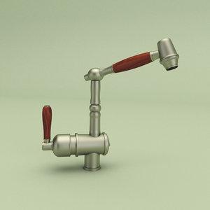 3d water faucet
