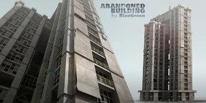 abandoned building 3d max