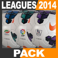 2013 2014 european leagues 3d model