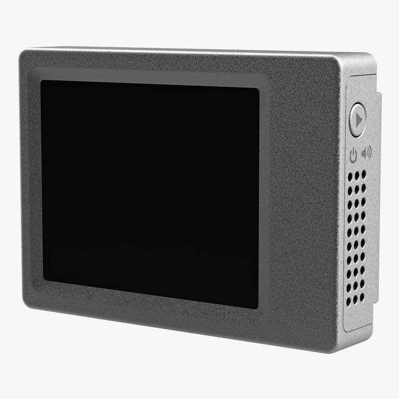 removable lcd monitor gopro 3ds