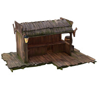 Stall wooden