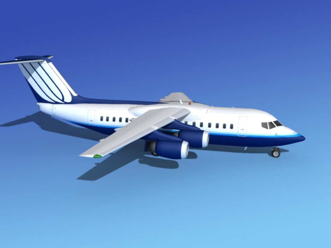 turbines bae united airliner 3ds