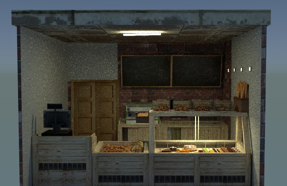 3ds bakery shop